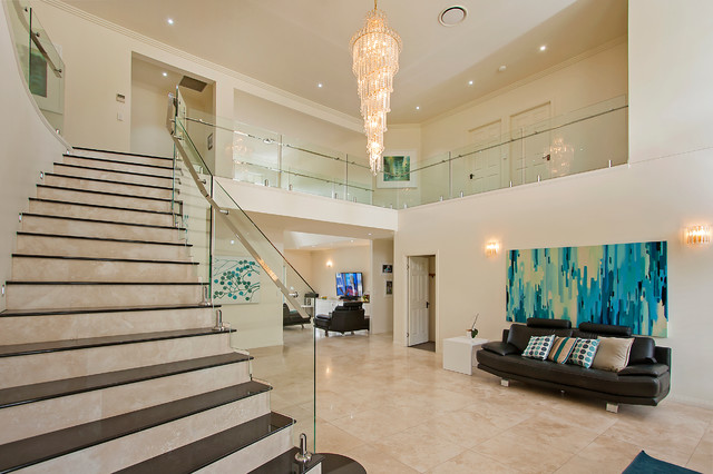Glass Staircase Balustrade Amp Void Modern Staircase