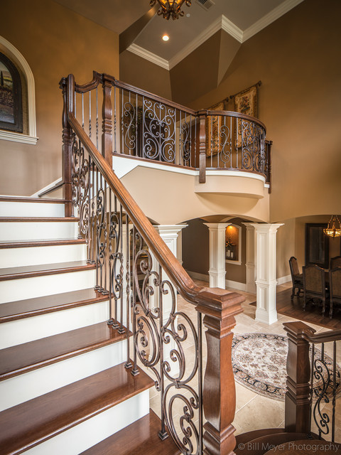 Glen Ellyn Home traditional-staircase
