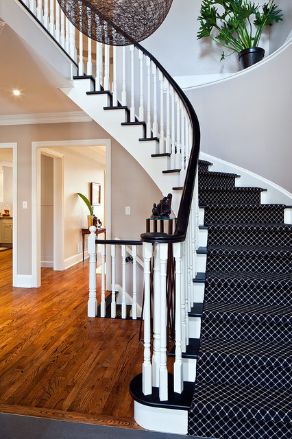 Glen Renovation contemporary-staircase