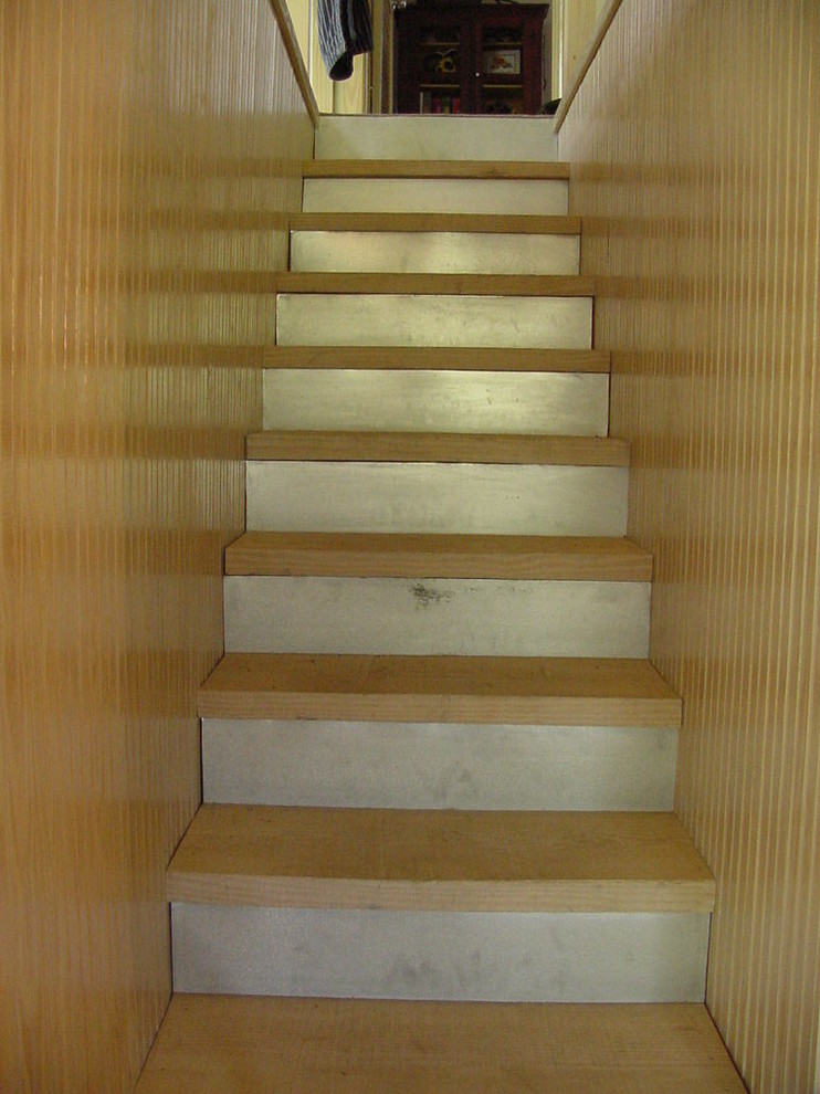 Inspiration for a country staircase remodel in Austin
