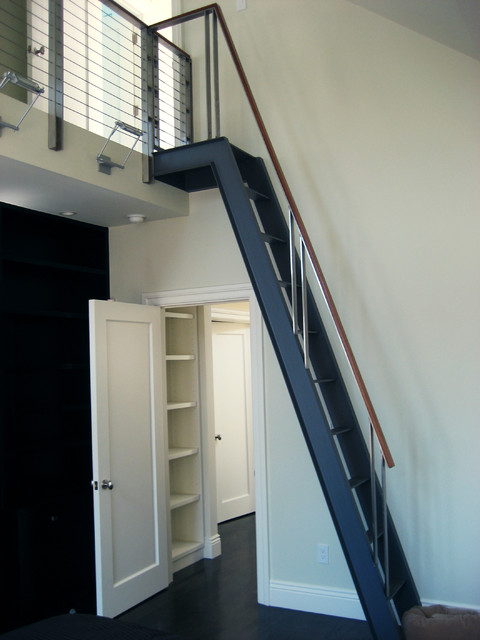 Gough Street Ladder - Modern - Staircase - san francisco - by Winder Gibson Architects