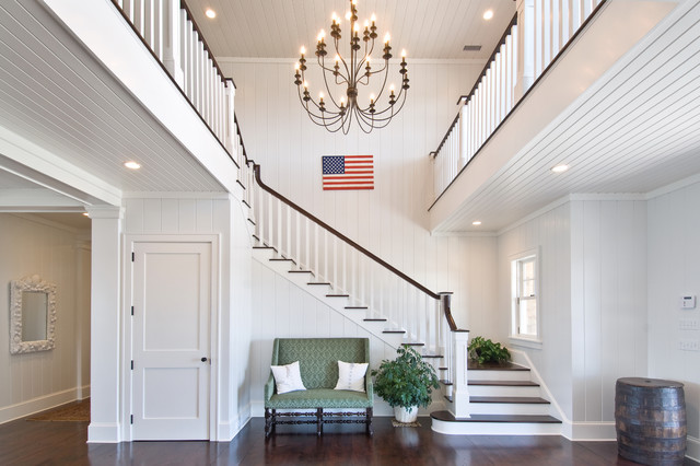 Grand Foyer Traditional Staircase New York By