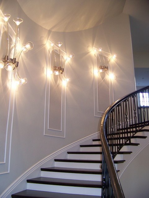 grand stair contemporary-staircase