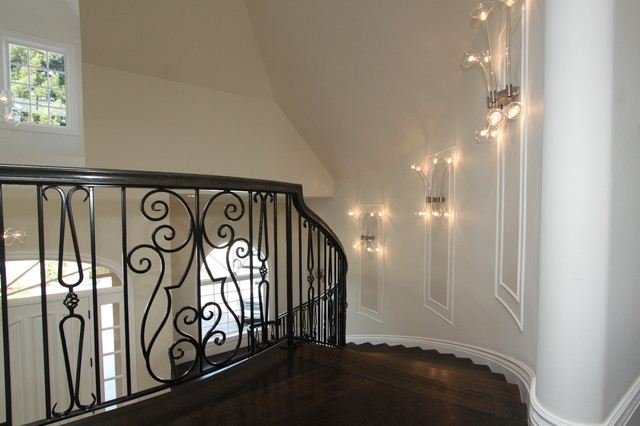 grand stair traditional-staircase