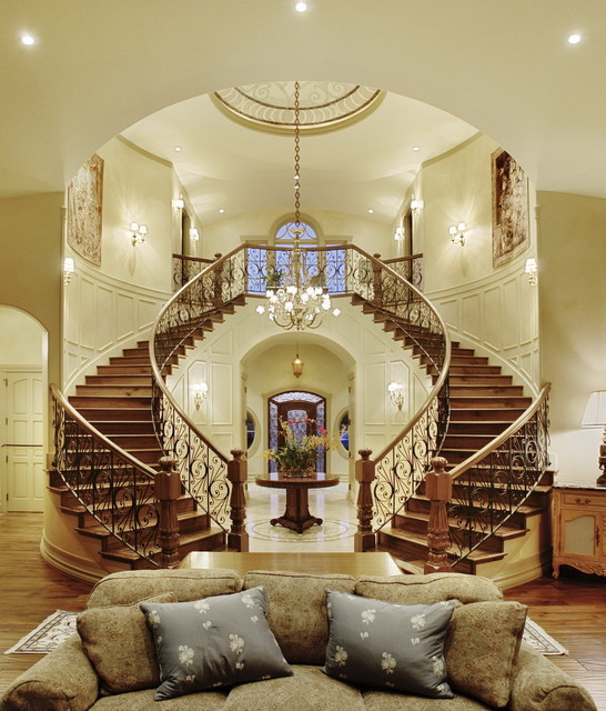 Grand Staircase traditional-staircase