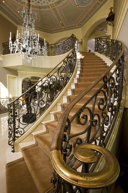 grand staircase traditional staircase minneapolis