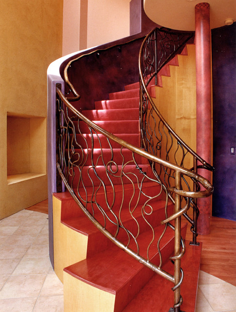 Grandview Residence eclectic-staircase