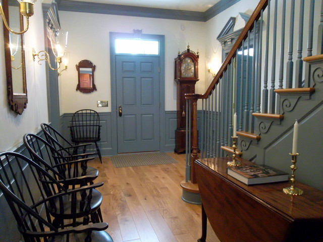 Grant Mn Enameled Cabinets In 18th Century Colors