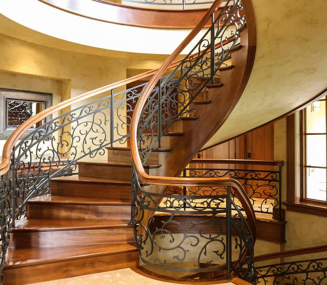 Interior Design Portland Oregon: Grapevine Spiral Staircase