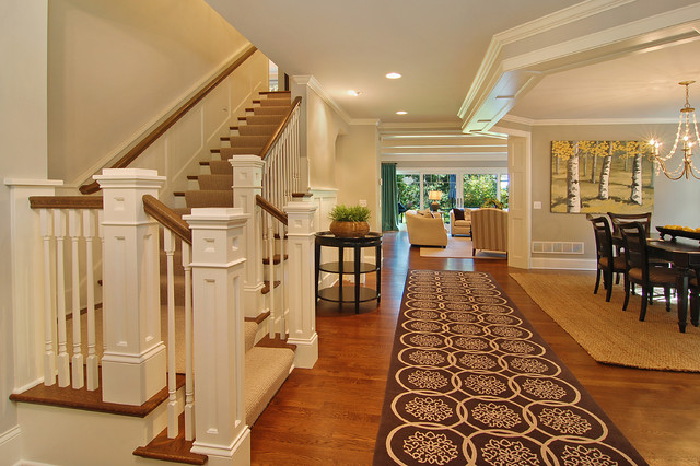 Great Neighborhood Homes traditional staircase