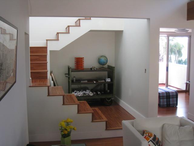 Green Idea House contemporary-staircase