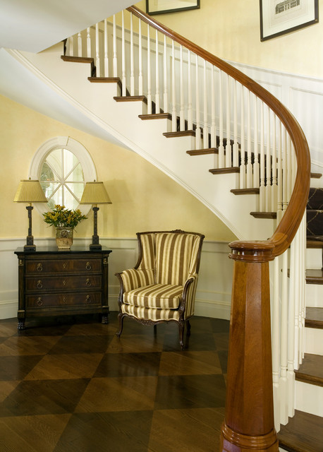 Citrus Bloom traditional-staircase