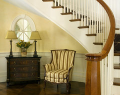 Citrus Bloom traditional staircase