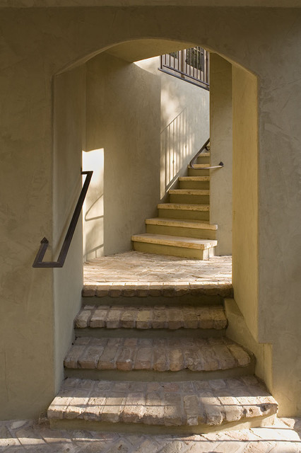 Inspiration for a timeless staircase remodel in Austin