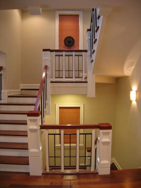 Greenview Private Residence traditional-staircase