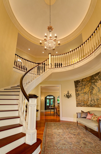 Greenville One traditional-staircase