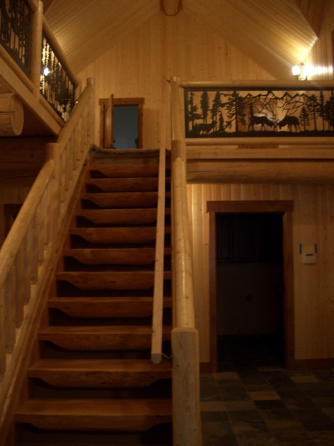 Greenwater traditional-staircase