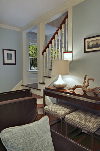 Greenwich, CT contemporary-staircase