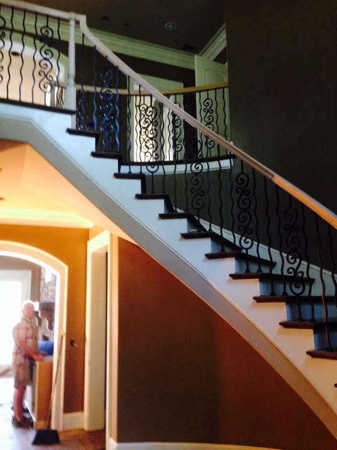 Greenwood 10,500 sq ft Trim & Staircase(s) Installation contemporary-staircase