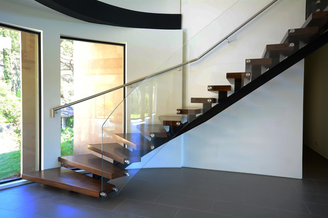 Charmant Ground Floor Stair Modern Staircase