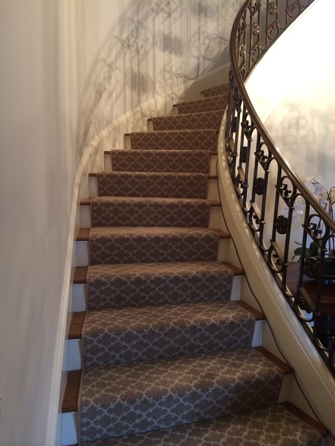 Hallway Amp Stair Runners Staircase New York By Main