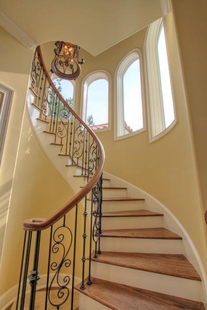 Hampton Lake - Balsam Bay mediterranean-staircase