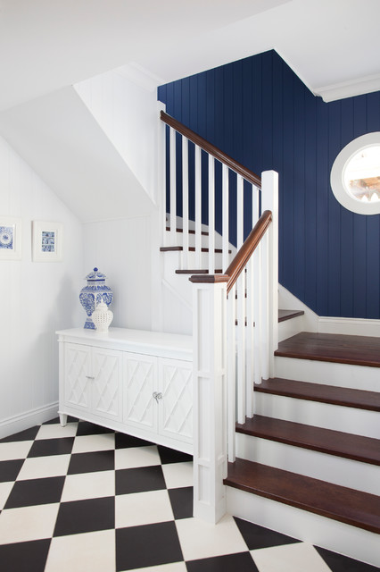 Foyer Stairs Qld : Hampton style interior design beach staircase