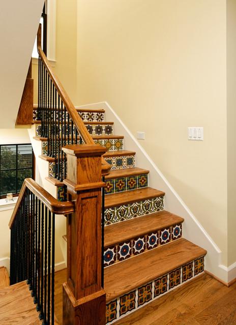 Hancock Home Arlington VA mediterranean-staircase