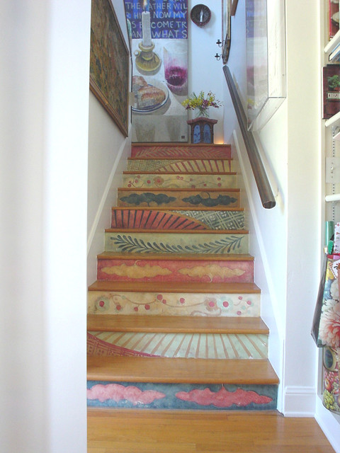 Perfect Eclectic Staircase By Fine Art U0026 Portraits By Laurel