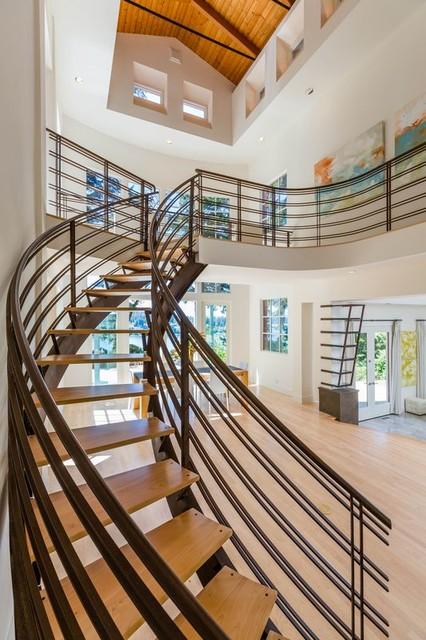 Hansen contemporary-staircase