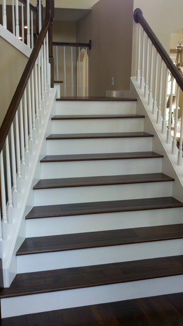 Hardwood Stairs Traditional Staircase Tampa By