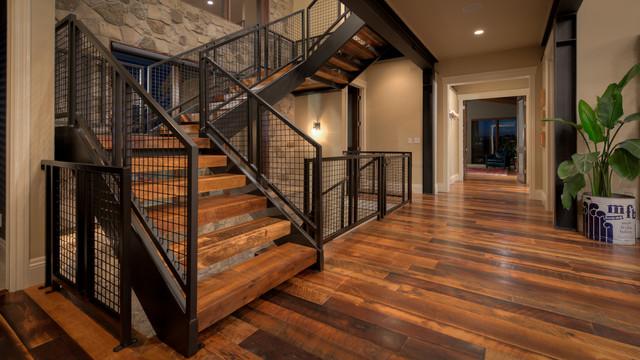Harmony ix contemporary staircase denver by david for David hueter home designs