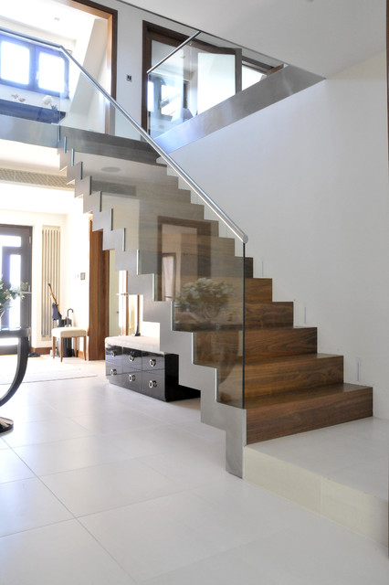 Hatch End contemporary-staircase