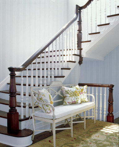 Hda project 907 traditional staircase dc metro by for Hda design
