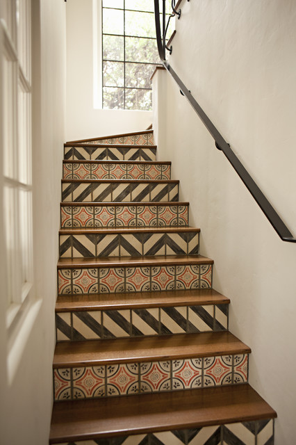 traditional staircase by Tim Barber LTD Architecture & Interior Design