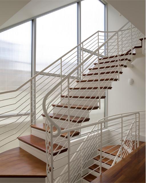 Hermosa Beach House Beach Style Staircase Los