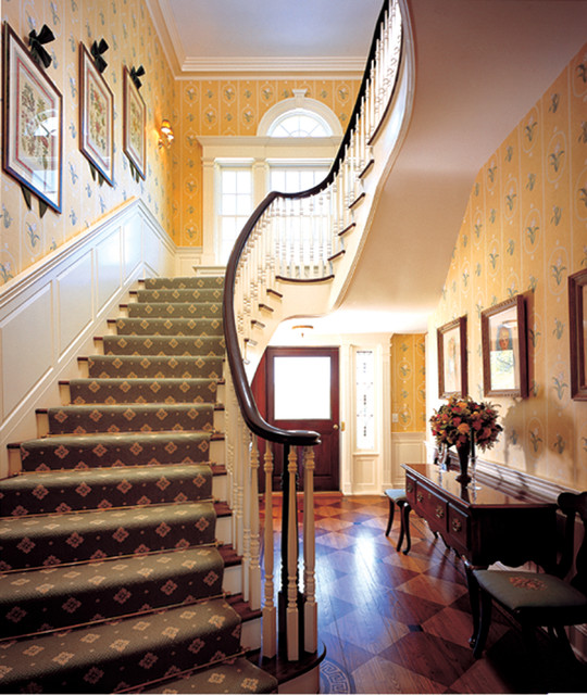 HHTA Interior Stairs traditional-staircase