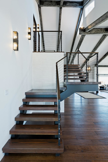 Hidden Hills Ranch Remodel Contemporary Staircase Los Angeles