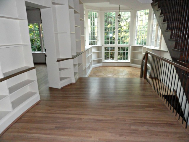Hidden Manor traditional-staircase