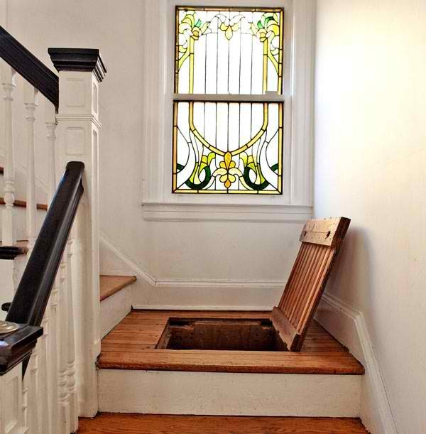 hidden space eclectic-staircase