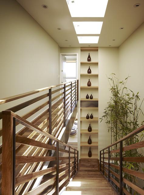 Hill Street Residence modern-staircase