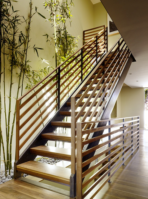 Hill Street Residence modern-staircase