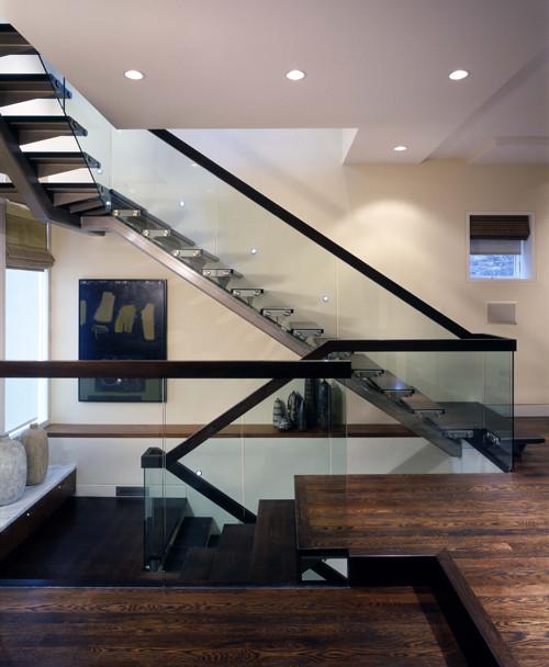 -- Hirsch Associate -- modern staircase