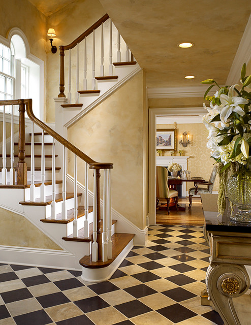 Historic Character / Modern Functionality traditional-staircase