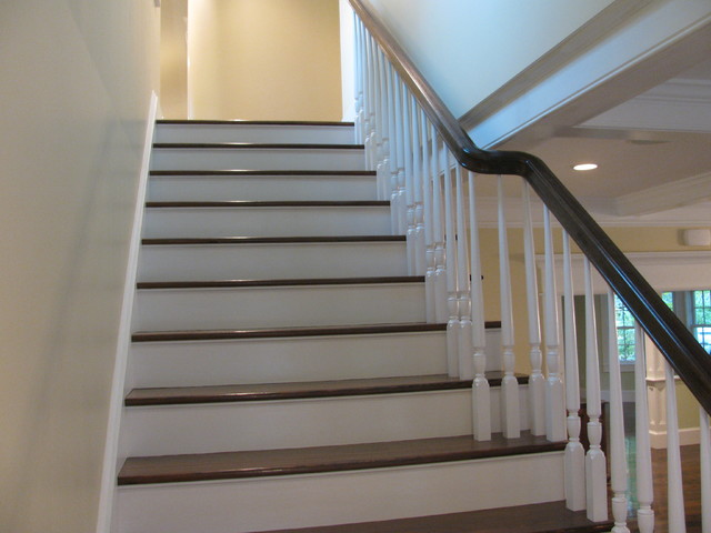 Historic Colonial Renovation Traditional Staircase