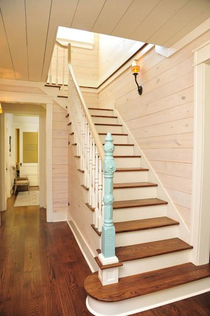 Historic Farmhouse Renovation Staircase