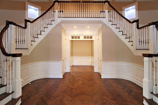 Hobart Ave house traditional-staircase