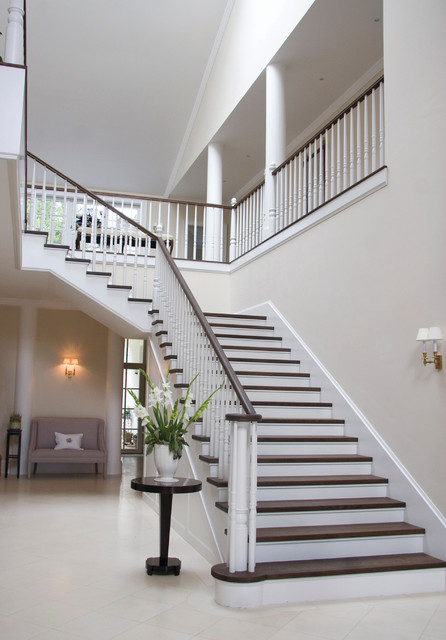 Holiday villa moderne escalier londres par zl design for Photos escalier interieur moderne