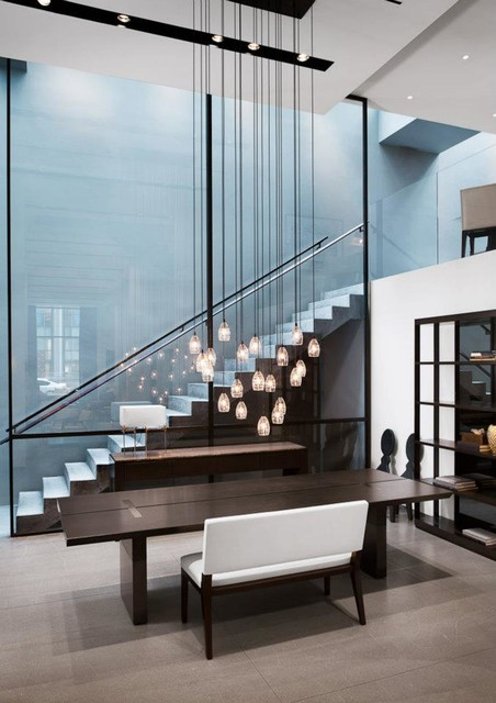 Holly Hunt New York Contemporary Staircase New York