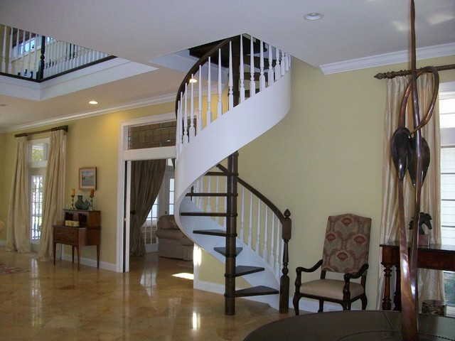 Home in Lychee Road, Sarasota traditional-staircase
